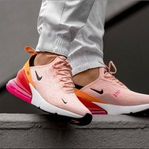 ✔️ New✔️ NIKE Air Max 270 'Washed Coral'